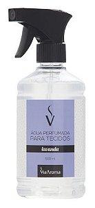 Água Perfumada para Tecidos Via Aroma 500 ml - Lavanda