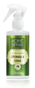 Home Spray Via Aroma 200 ml / Citronela e Cravo