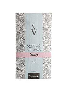 Sachê Perfumado Via Aroma 10 gr / Baby