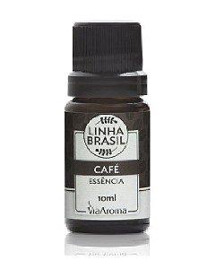 Essência De Café - Linha Brasil - Via Aroma - 10ml