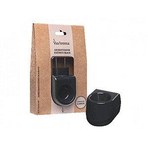 Difusor Elétrico Black De Plástico / Via Aroma