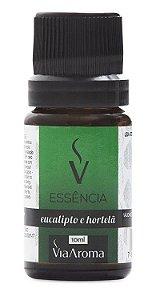 Essência De Eucalipto E Hortelã / Via Aroma 10 ml