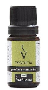 Essência De Gengibre E Mandarina / Via Aroma 10 ml