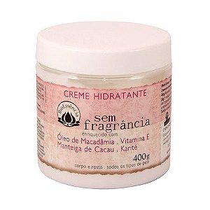 Creme Hidratante Sem Fragrância Bioessência 400 gr