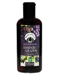 Óleo Vegetal De Semente De Uva (Vitis vinifera) Bioessência 120 ml
