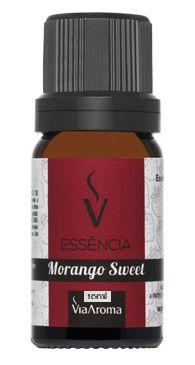 Essência De Morango Sweet / Via Aroma 10 ml
