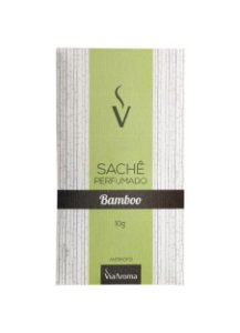 Sachê Perfumado Via Aroma 10g / Bamboo