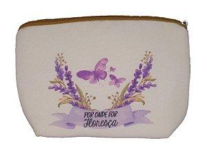 Bolsa Protege - Para Guardar Cosméticos Naturais - Por onde for floresça
