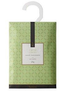 Sachê Perfumado Via Aroma 25g - Capim Limão