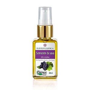Óleo Vegetal De Semente de Uva Orgânico (Vitis vinifera) 30 ml - Phytoterápica
