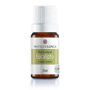Óleo Essencial De Eucalipto Globulus - Eucalyptus globulus 10 ml - Phytoterápica