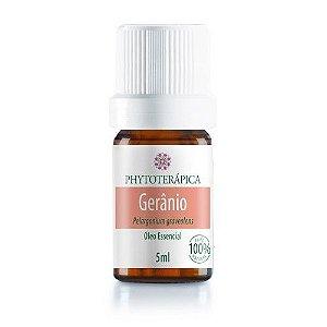Óleo Essencial De Gerânio - Pelargonium graveolens 05 ml - Phytoterápica