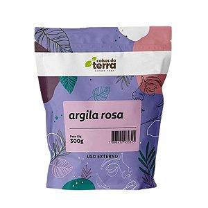 Argila Rosa - Coisas da Terra - 300 g