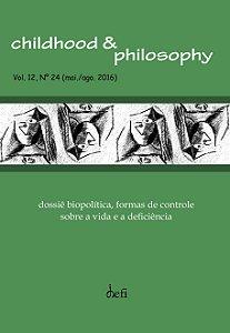 Childhood & Philosophy  - Dossiê Biopolítica, formas de controle sobre a Vida e a Deficiência