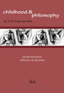 Childhood & Philosophy - Dossiê Incêndios: Infâncias do presente