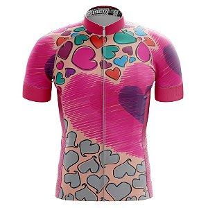Camisa de Ciclismo PRO - Coração