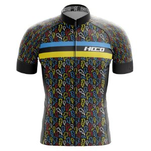 Camisa de Ciclismo Pró Race - Raios