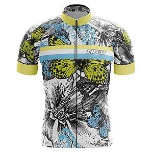 Camisa de Ciclismo Pró Race - Borboletas