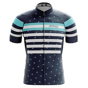 Camisa de Ciclismo Pró Race - Navy