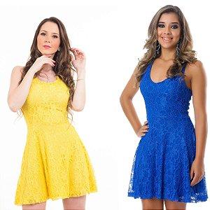 Vestido Karina em Renda  -  Ref 7115