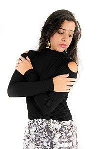 Blusa Cacharrel Com Buraco no Ombro