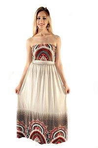 Vestido Tomara que Caia Longo Ref 27412