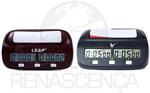 Relógio Digital Leap Para Xadrez Compacto