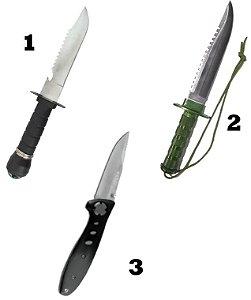 Facas e Canivetes Linha Echolife