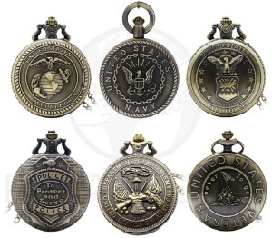 Relógio De Bolso Linha United States
