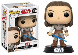 Boneco Funko Pop Star Wars The Last Jedi Rey 190