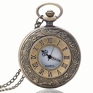 Relógio De Bolso Roman Vintage