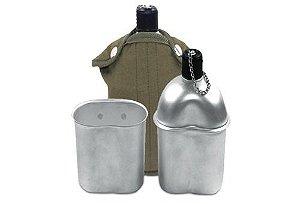 Cantil De Alumínio Com Capa e Copo - Echolife