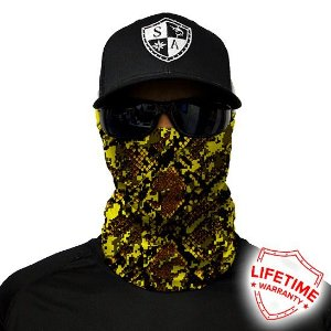 Bandana Balaclava Face Shield Pele De Cobra