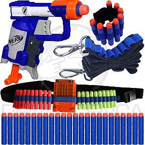 Lançador Nerf Jolt + Acessórios + 20 Dardos Brinquedo