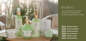 Kit Refrescar Ambiente  Aroma Di  Bamboo 6 Itens Hinode