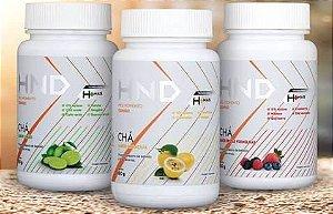 3 Chás  Limão - Frutas Vermelhas -  Maracujá H+Mais Hinode   HND  150g