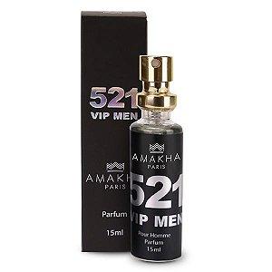 Perfume 521 Vip  Men  Amakha Paris Importado masculino 15 ml