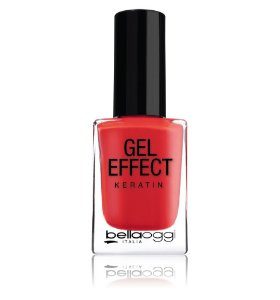 ESMALTE GEL EFFECT  BELLAOGGI KERATIN  – POPPY RED 39 – 10ml  HINODE
