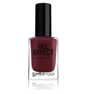 Esmalte  Gel Effect Bellaoggi Keratin Wine  nº 04 10ml Hinode