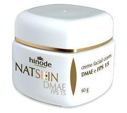 Nat Skin Creme Facial DMAE e FPS 20 - DIA 60g  HINODE