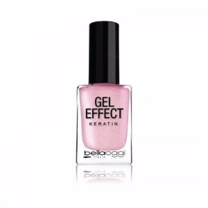 ESMALTE   GEL EFFECT BELLAOGGI KERATIN  – PEARL ROSE Nº 18 – 10ml   -HINODE