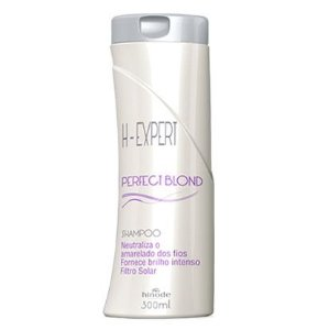 SHAMPO PERFECT BLOND DESAMARELADOR H-EXPERT  HINODE 300 ml