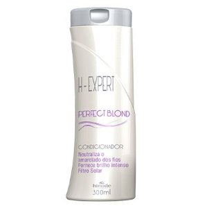 CONDICIONADOR  PERFECT BLOND DESAMARELADOR H-EXPERT  HINODE 300ml