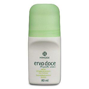 Desodorante Erva Doce Antitranspirante Roll on Sem Perfume  Hinode