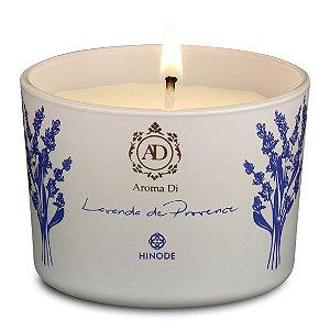 Vela Perfumada Lavanda Provence Aroma Di Hinode 90g