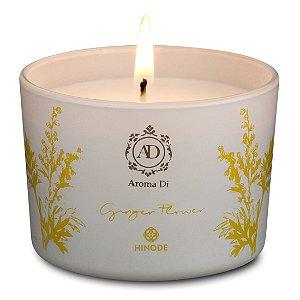 Vela Perfumada Ginger Flower Aroma Di Hinode 90g