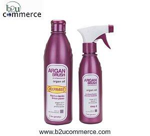 Argan Brush Express Sem Formol - Kit* - Frete Grátis
