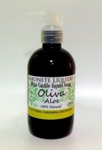 Sabonete Líquido Oliva & Aloe (Castile Liquid Soap)
