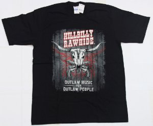 Camiseta Outlaw Music for Outlaw People Masculina