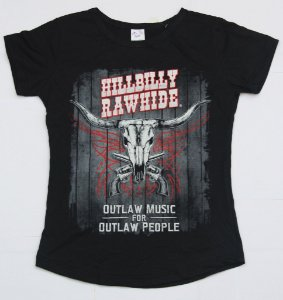 Camiseta Outlaw Music for Outlaw People Feminina